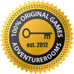 AdventureRooms Original Escape Game Badge