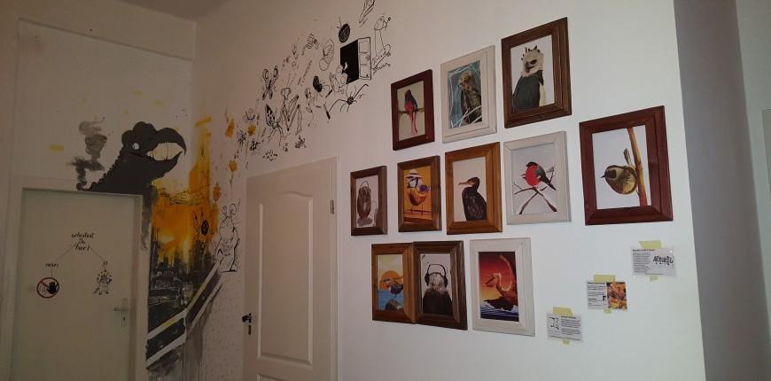 Galerie für junge Künstler bei AdventureRooms Leipzig