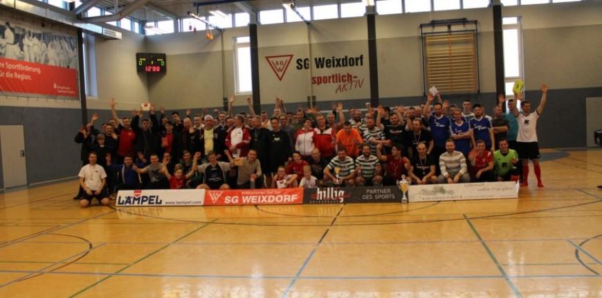 AdventureRooms Dresden räumt beim SponsorenCup SG Weixdorf ab