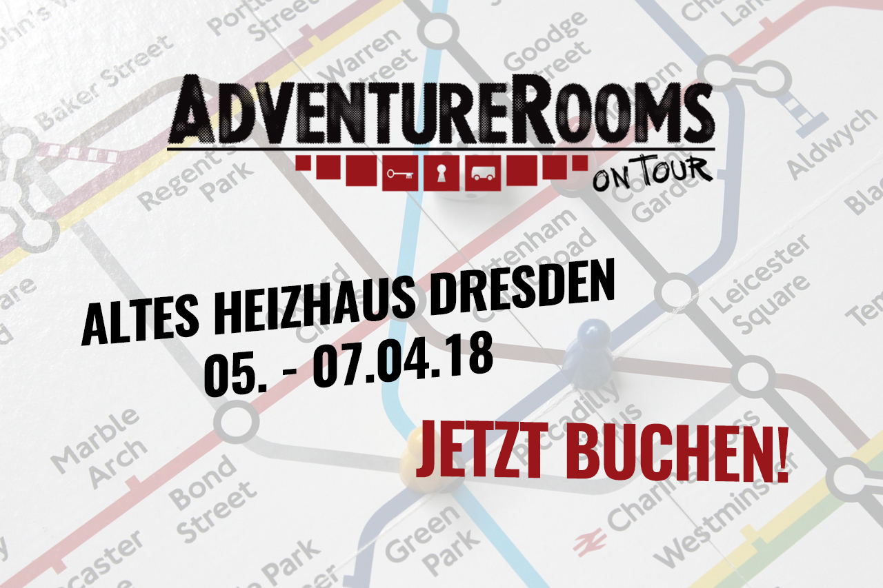 AdventureRooms on Tour fesselndes Escape Game