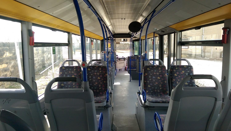 AdventureRooms on Tour öffentlicher Nahverkehrsbus Innenraum
