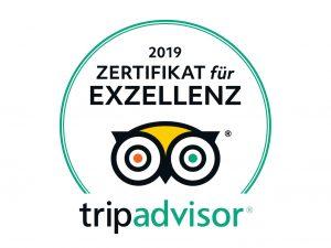 AdventureRooms Hamburgs Escape Rooms von TripAdvidor mit Zertifikat für Exzellenz 2019 ausgezeichnet